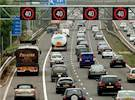 Managed motorway speed signs switch-on image