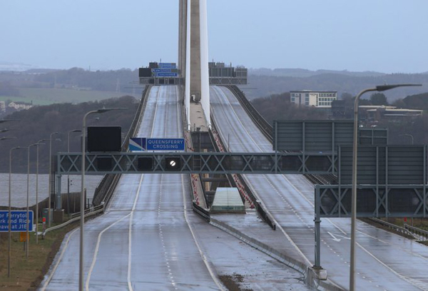 Matheson on thin ice over Queensferry closure image