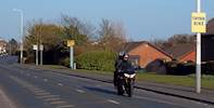 Motorcyclists targeted in road safety drive image