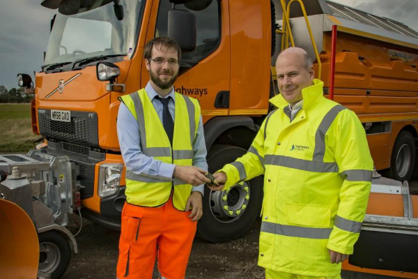 New gritters aim to stand out for safety image