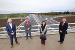 New section opens as £189m A6 dualling nears completion image