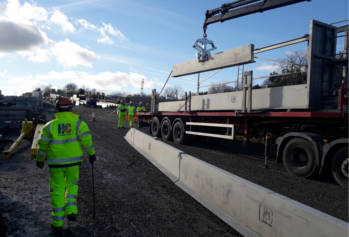 New slimmer barrier gets to work in Wales image