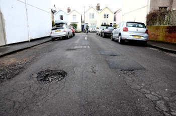 Pothole compensation costs councils nearly £3m a year image