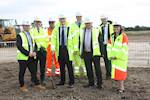Roads Minister opens new M1 road link image