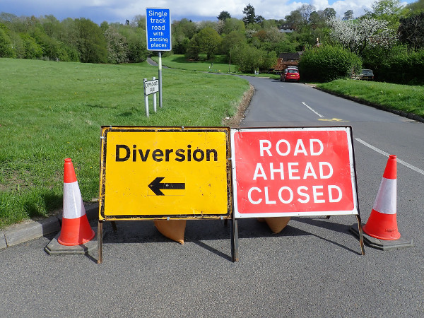 Roadworks? What roadworks? image