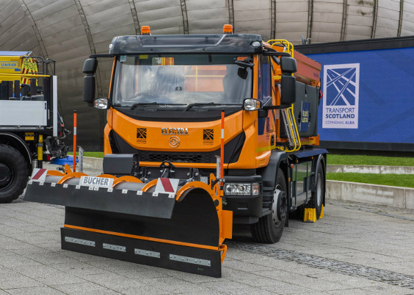 Scotland goes Forth with electric gritter image