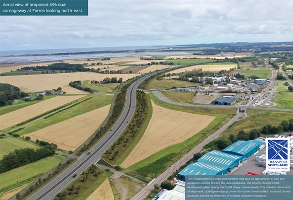 Scottish Government digs in on A96 with 40km shared path image