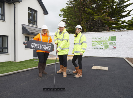 Scottish firms find a home for plastic roads image
