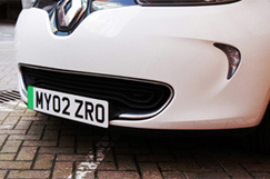 Shapps green lights EV number plate move image