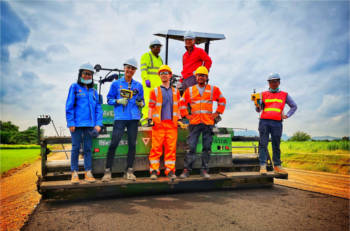 Shell launches new greener asphalt technology image