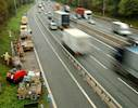 Site prep work starts on £247m motorway image