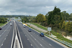 Smart motorway opens without new spec  image