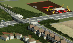 Southampton braces for disruption as £19m bridge works close M27 image