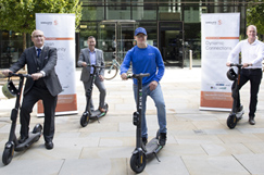 Staffs e-scooter trial goes Live image