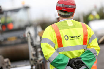 Tarmac first to step up against modern slavery image
