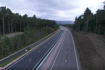 Transport Scotland set to award £62m A9 dualling works to Balfour Beatty image