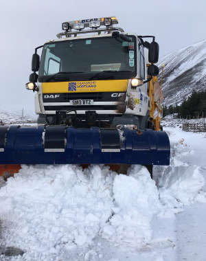 Transport Scotland versus the Beast from the East - Q and A image