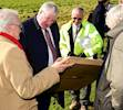Transport Secretary visits Norfolk to see road schemes image