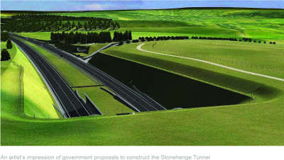 UN unhappy as Govt saves £540m on Stonehenge tunnel  image