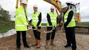 Work starts on Mersey Gateway project image