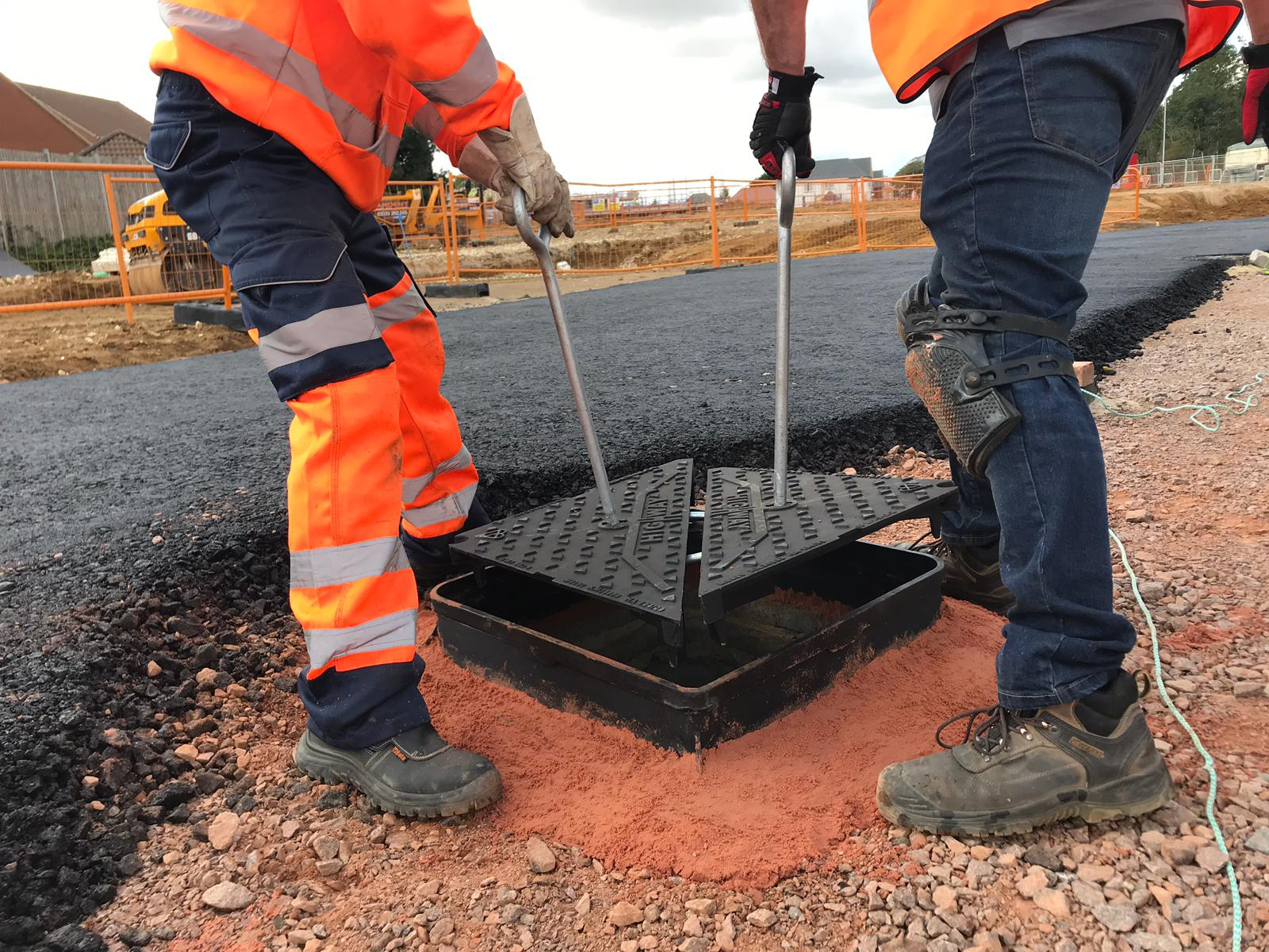 Wrekin goes above and beyond with new manhole cover solution  image