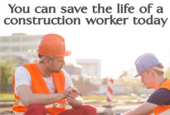 You can save the life of a construction worker today image